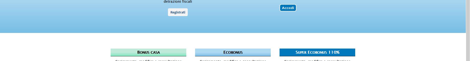 Superbonus 110% – Portale Enea operativo per la presentazione delle domande